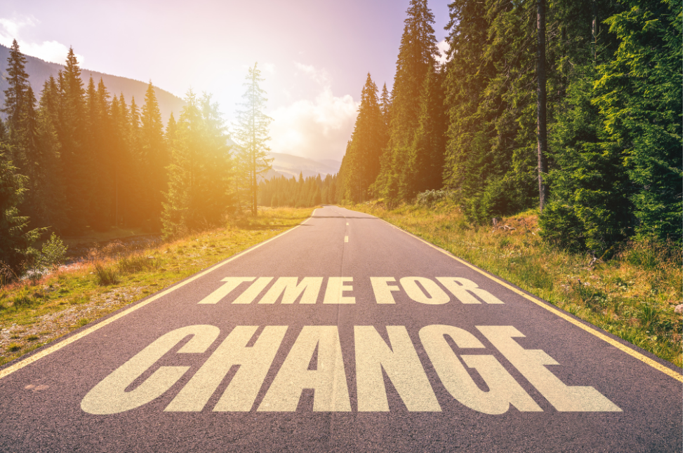 Time to Change (3 min read)
